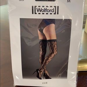 Wolford Lilie stay up stockings